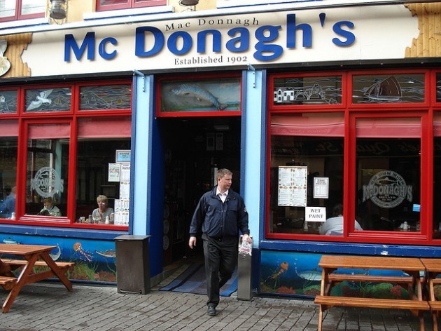 best fish and chips in Galway! I did try it! it is true
