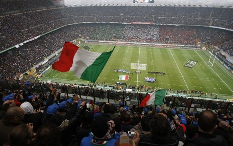 ITALY NEW ZEALAND RUGBY
