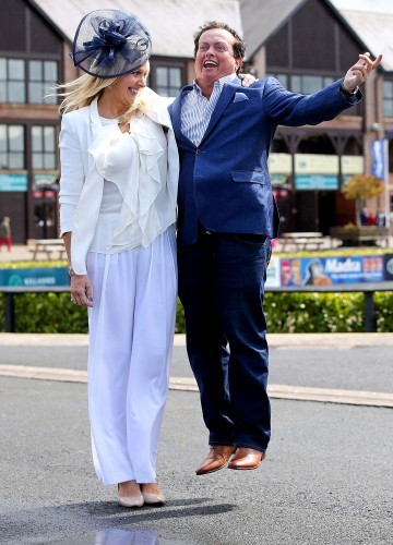Miriam O'Callaghan and Marty Morrissey