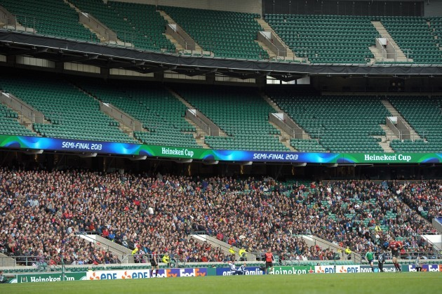 Rugby Union - Heineken Cup - Semi-Final - Saracens v Toulon - Twickenham Stadium