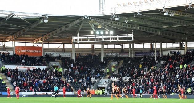 Soccer - Barclays Premier League - Hull City v Liverpool - KC Stadium