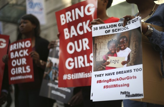 Boko Haram abduction protest