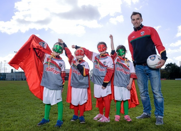 GAA Legends Henry Shefflin and Karl Lacey launch Kellogg's renewed sponsorship deal with GAA Cúl Camps