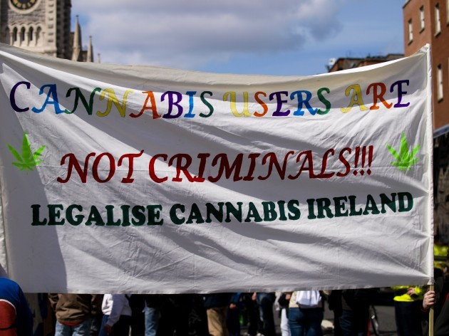 Legalise Cannabis March Dublin Ireland