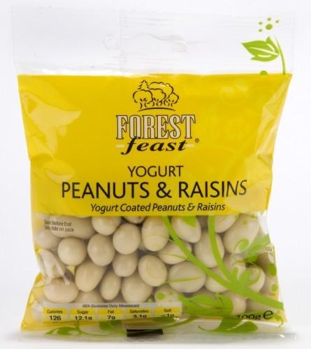 Yogurt-Peanuts-Raisins