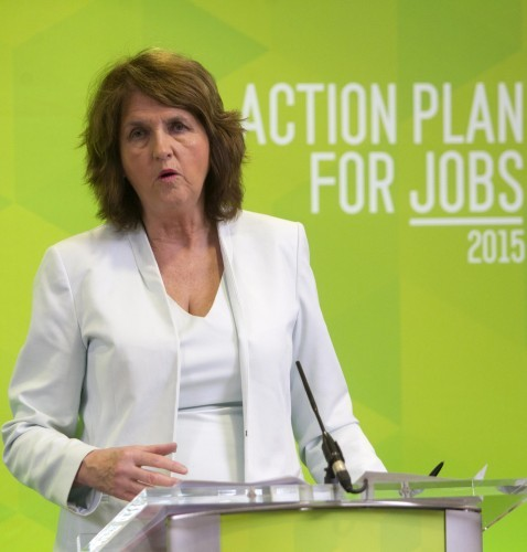 Action Plan For Jobs. Pictured Tanaist