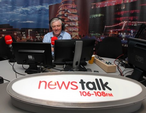 Pat Kenny First Day at Newstalk