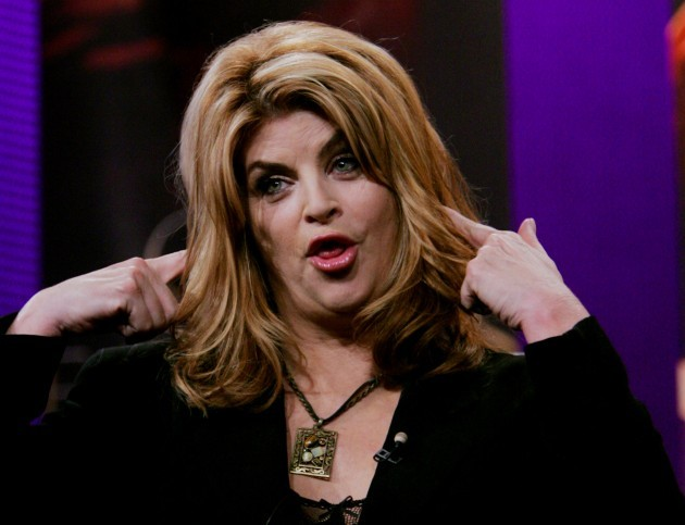Kirstie Alley at the meeting of the Television Critics Association in Universal City, Calif