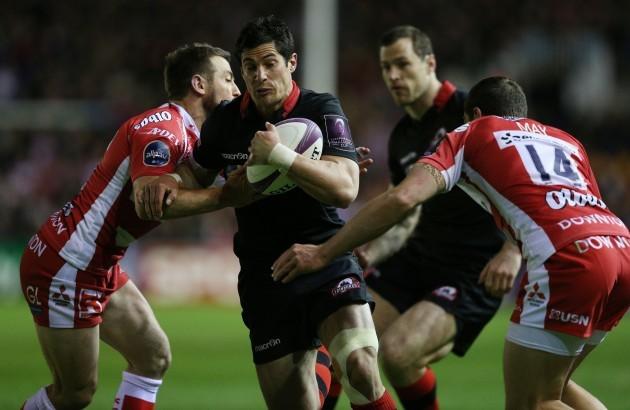 Rugby Union - European Rugby Challenge Cup Final - Edinburgh v Gloucester - Twickenham Stoop