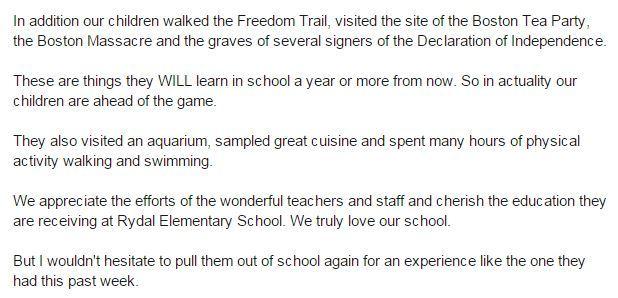 Dad Writes Excellent Letter To Principal Defending Childrens