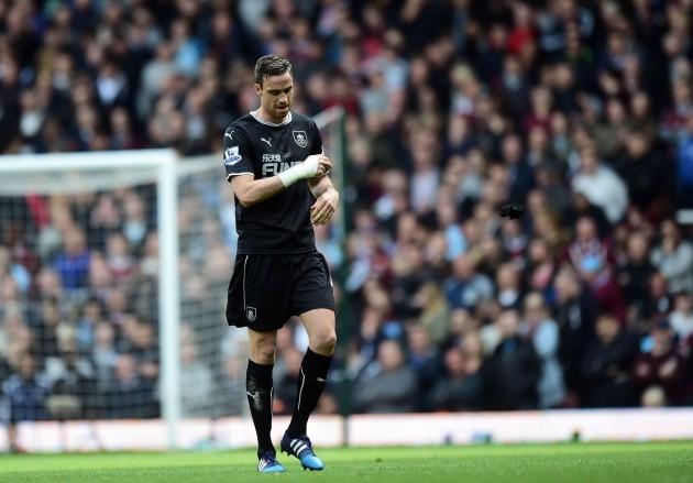 Soccer - Barclays Premier League - West Ham United v Burnley - Upton Park