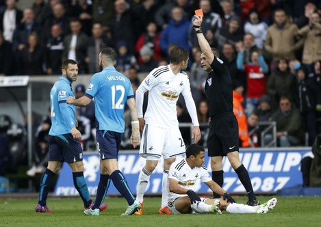 Soccer - Barclays Premier League - Swansea City v Stoke City - Liberty Stadium
