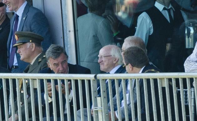 President Michael D. Higgins in attendance