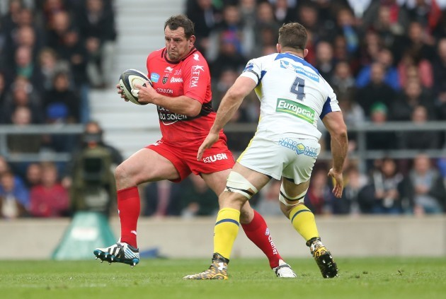Carl Hayman and Jamie Cudmore