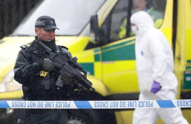 Britain Northern Ireland Killing