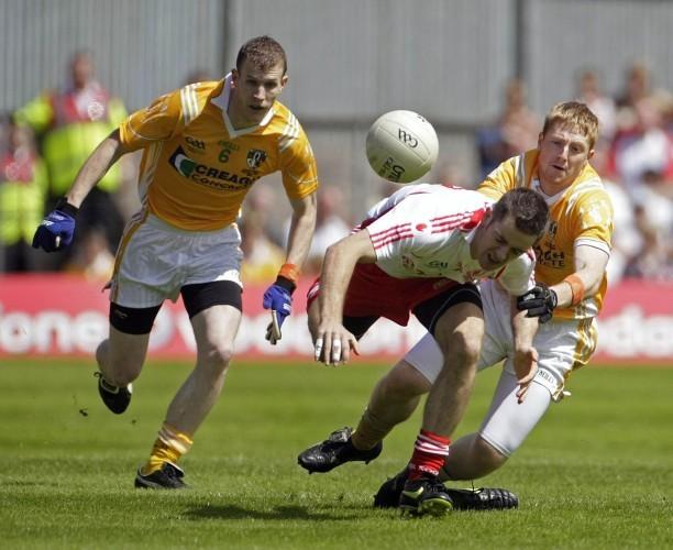 Gaelic Football - Ulster Championship Final - Tyrone v Antrim - St Tiernachs Park