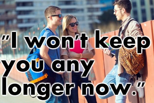 any longer