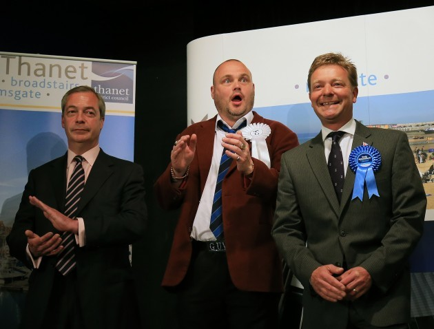 General Election 2015 aftermath - May 8th
