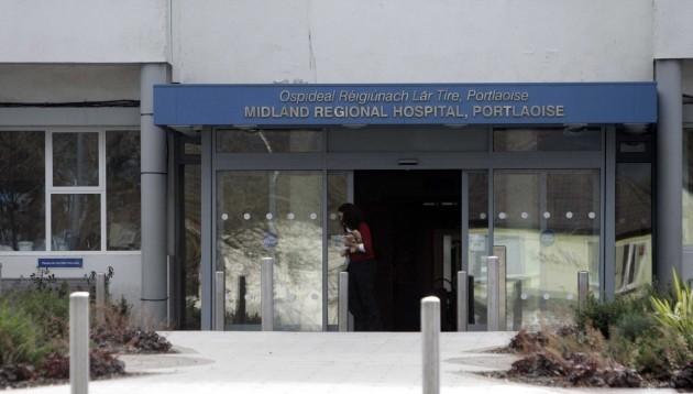 File Photo Today HIQA will release Report into Portlaoise Hospital.