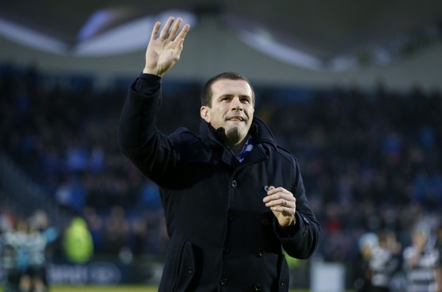 Shane Jennings says goodbye to Leinster