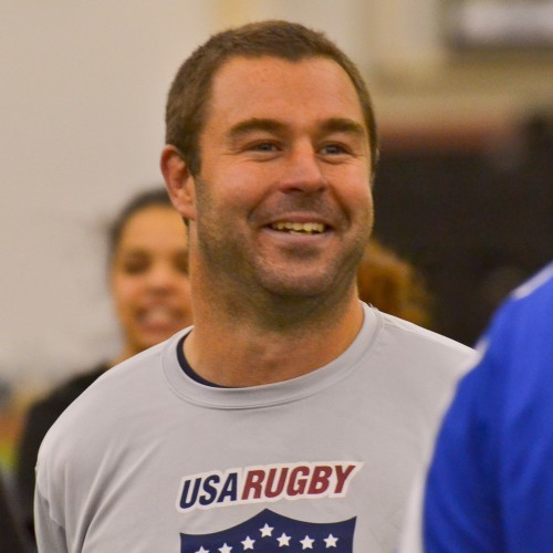 Gavin Hickie coaching for USA rUGBY
