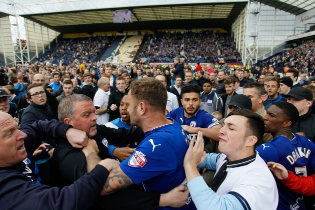 Soccer - Sky Bet League One - Play Off - Second Leg - Preston North End v Chesterfield - Deepdale