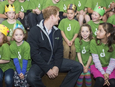 Prince Harry visit to New Zealand - Day Three