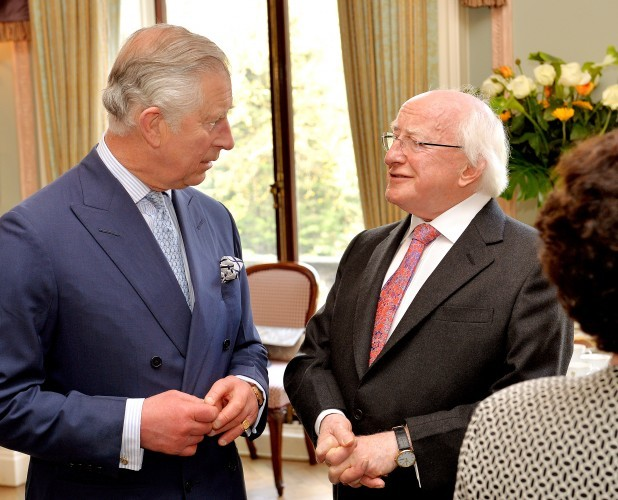 President Higgins state visit to Britain - Day Two