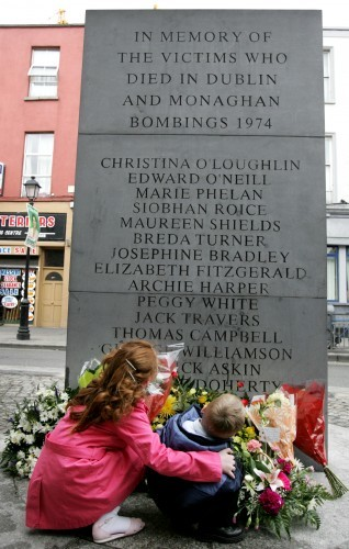 33rd anniversary of the Dublin and Monaghan bombings