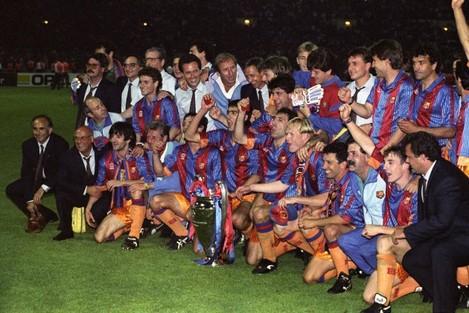 Soccer - European Cup Final - Barcelona v Sampdoria - Wembley Stadium, London