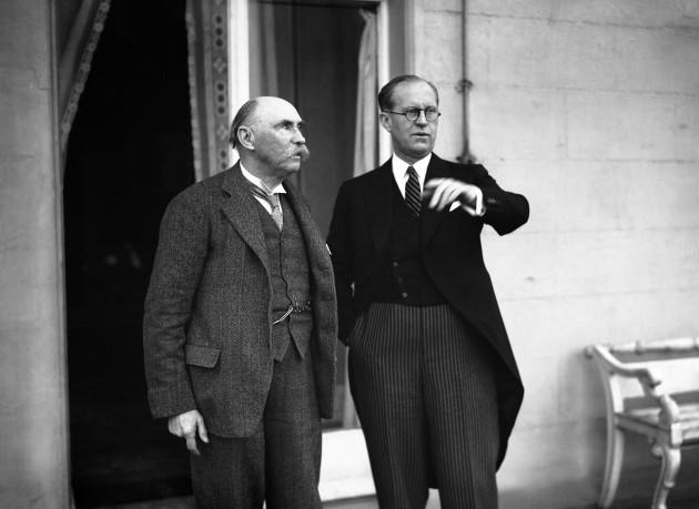 Ireland Joseph P. Kennedy and Douglas Hyde