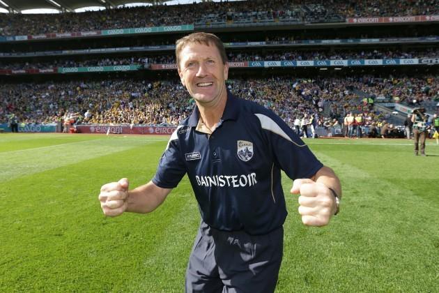 Kerry manager Jack O'Connor celebrates