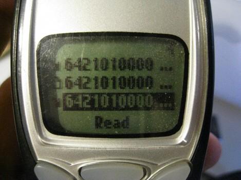 Primary Phone: Nokia 3210