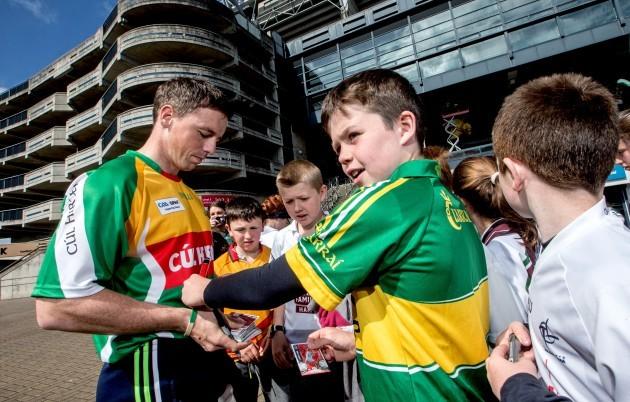 Cork's Anthony Nash signs autographs