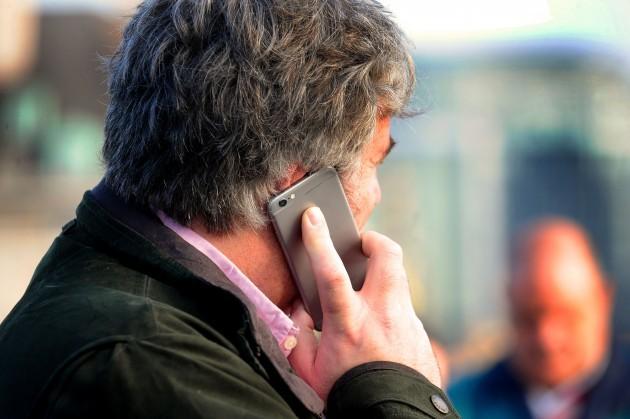 Mobile phone handsets warning
