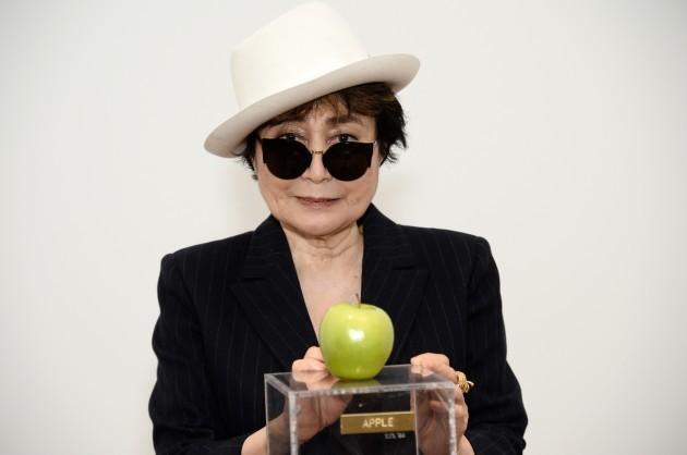 Yoko Ono MoMA One Woman Show Press Conference