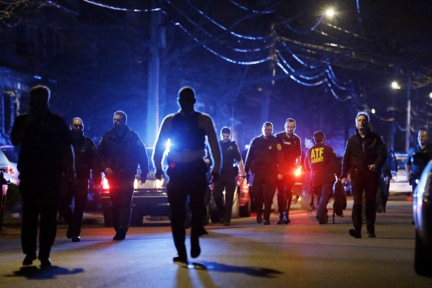 Boston Bombings Manhunt