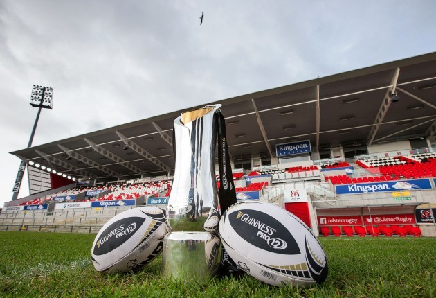 The Guinness PRO12 trophy
