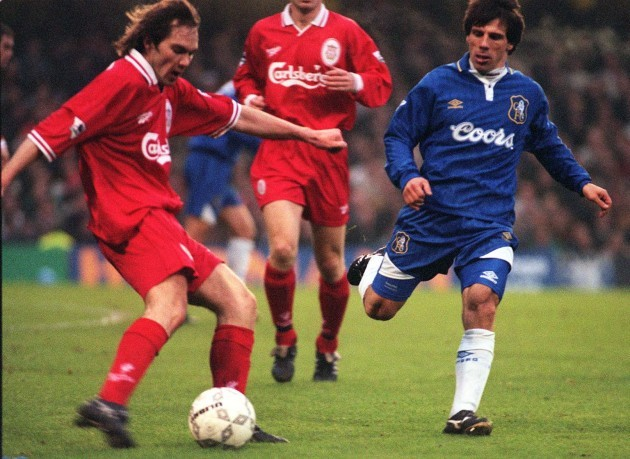 Soccer - FA Cup sponsored by Littlewoods - 4th Round - Chelsea v Liverpool - Stamford Bridge