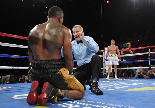 Golovkin Monroe Boxing