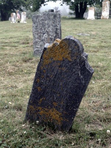 Headstone of Betsey Haskell, died February 6, 1816 (Matinicus Island, ME)
