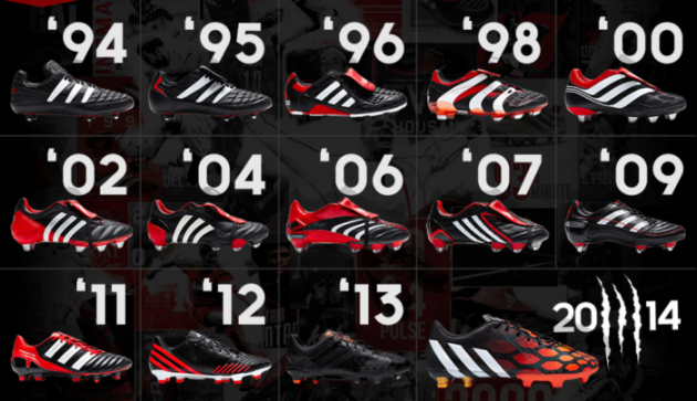 tout neuf 8ce1d c03dd End of an era! Adidas are binning Predator boots 21 years on ...