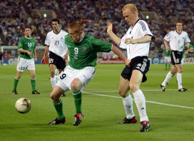 Damien Duff and Carsten Ramelow 5/6/2002 DIGITAL