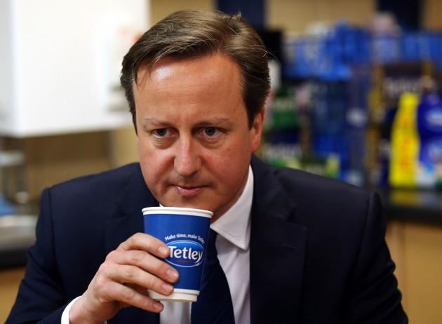 Cameron visit to Tetley factory