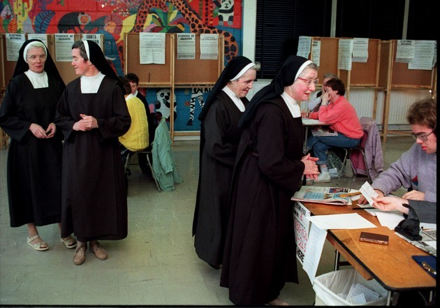 IRELAND Divorce Nuns