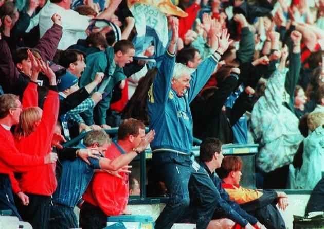 Everton v Wimbledon Mike Walker