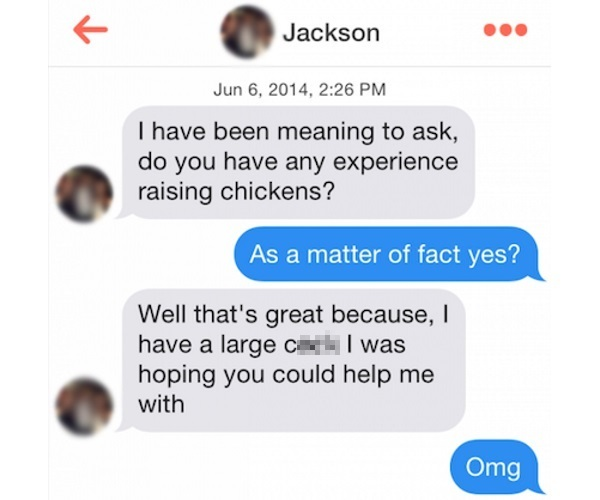 14 of the most intense Tinder puns ever delivered · The