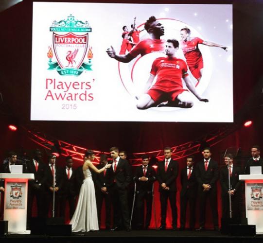 Liverpool awards night