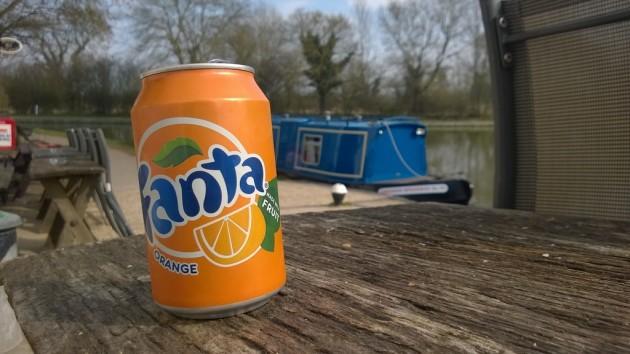 Fanta Boat