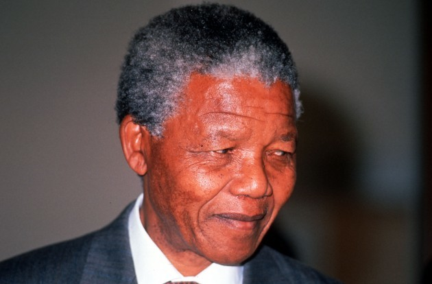 NELSON MANDELA IN IRELAND ANTI APARTHEID LEADERS